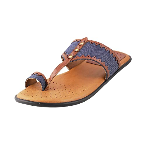 e165a6d8cc8788 Metro Men s Camel Sandals-9 UK India (43 EU) (16-9283-97-43)  Buy Online at  Low Prices in India - Amazon.in