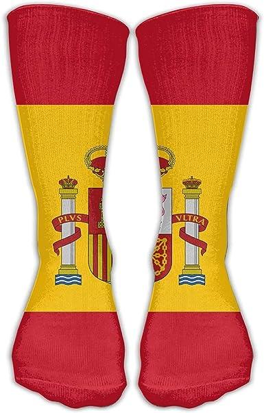 Nifdhkw Calcetines de moda con la bandera de España para adultos: Amazon.es: Ropa y accesorios