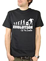 Balcony Shirts 'Evolution of the Zombie' Mens T Shirt