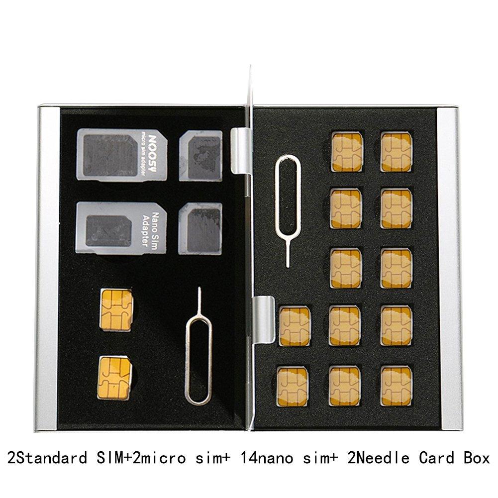 Myymee 4 Soportes de Tarjeta SIM estándar + 2 titulares de ...