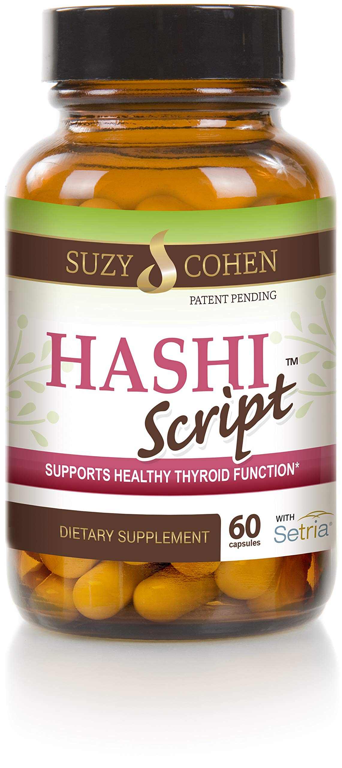HashiScript Thyroid and Immune Support Formula with Catalase and Glutathione - by Suzy Cohen by Script Essentials