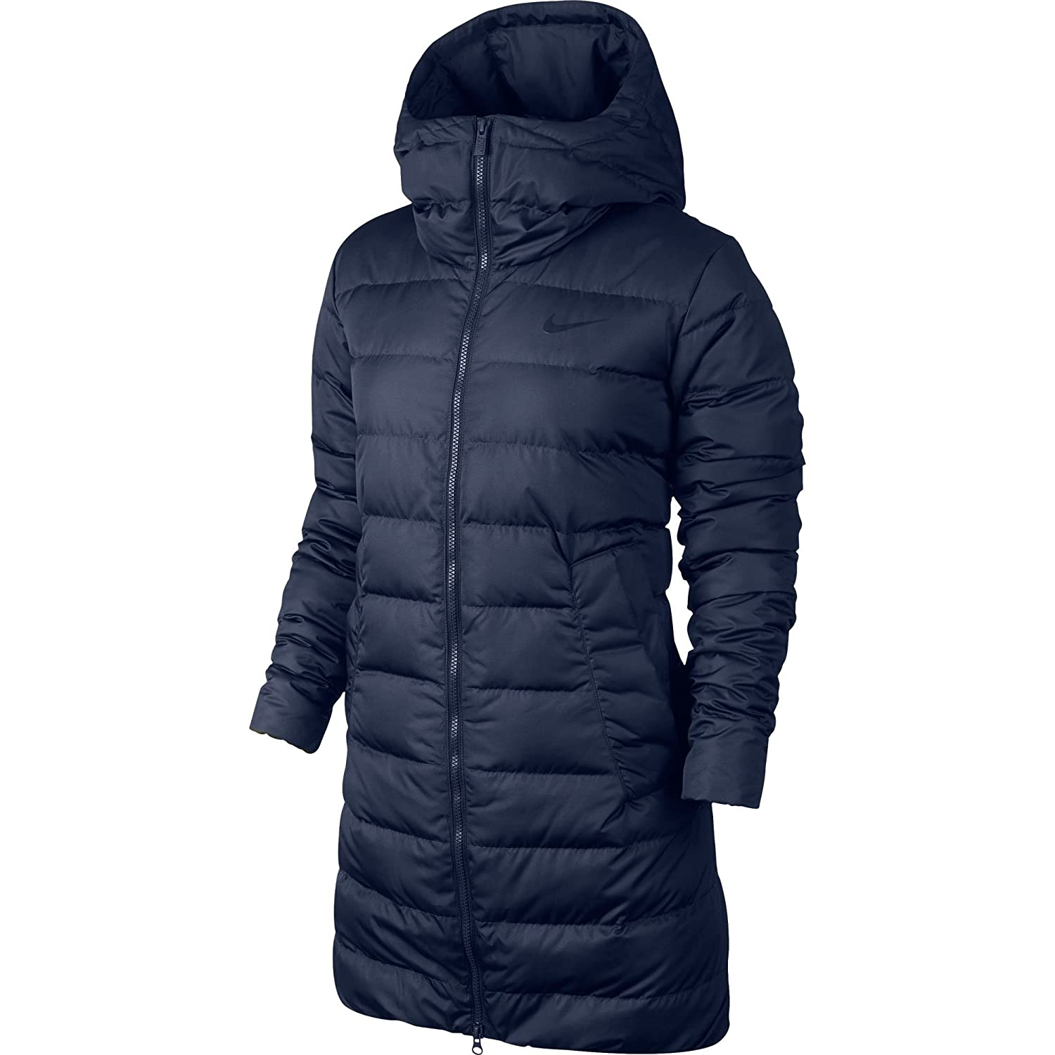 c0a24a0b0cfb Amazon.com  Nike Women s Victory 550 Down Parka Jacket Midnight Navy ...