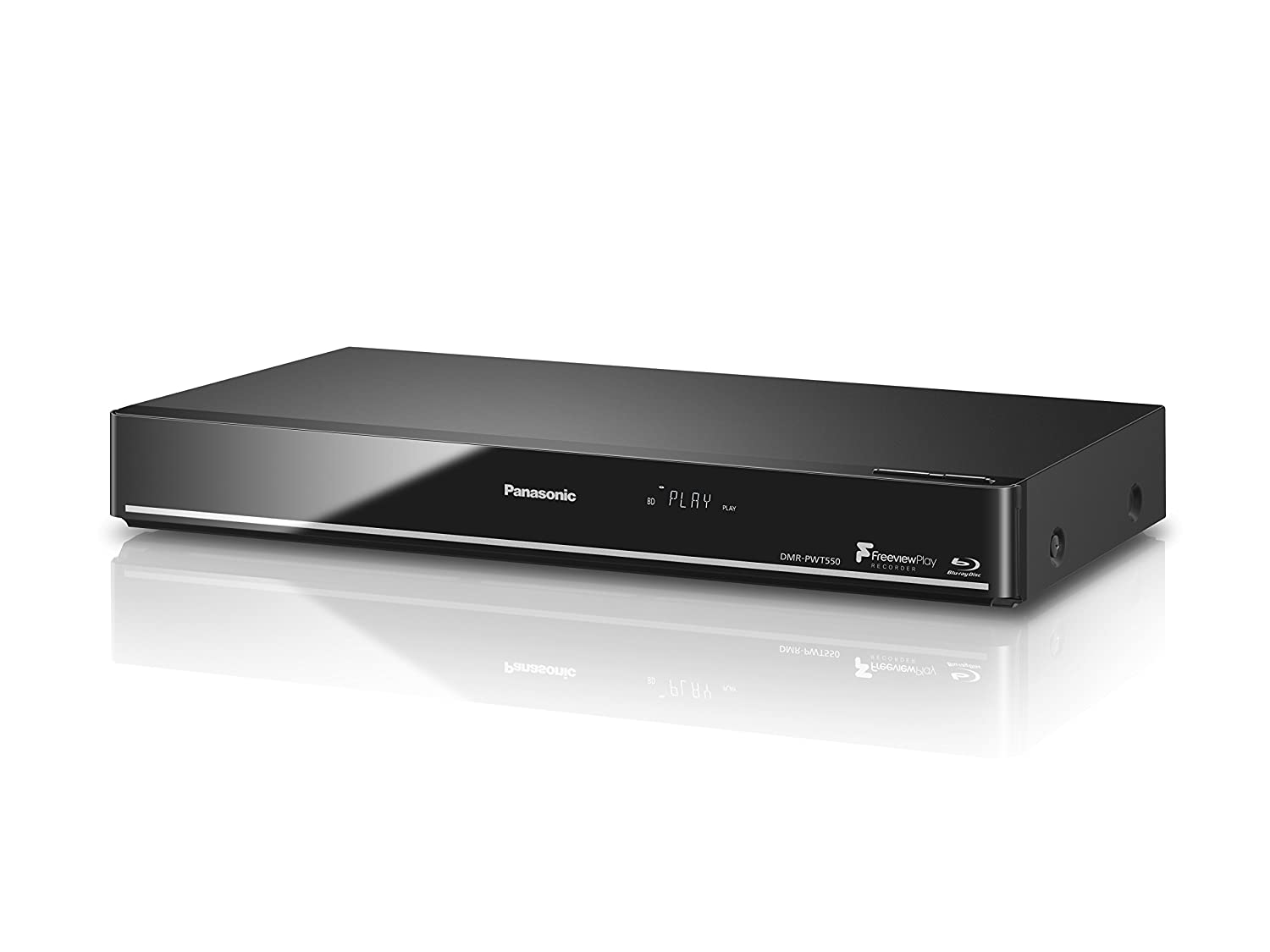 Panasonic Smart Blu-Ray Player with 500 GB HDD Recorder and Freeview Play