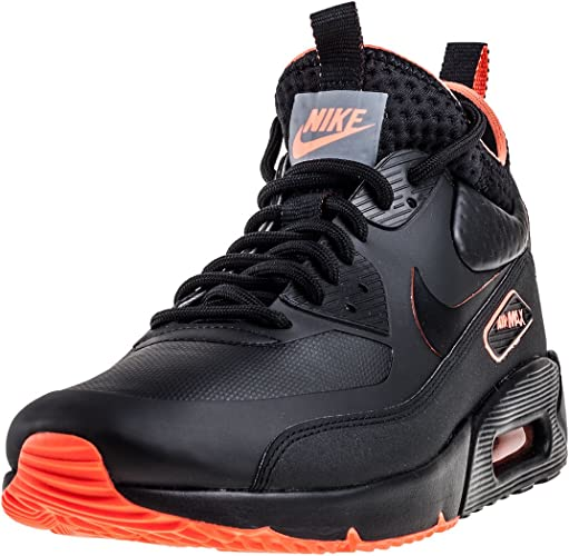 nike chaussure air max 90 ultra mid winter se noir