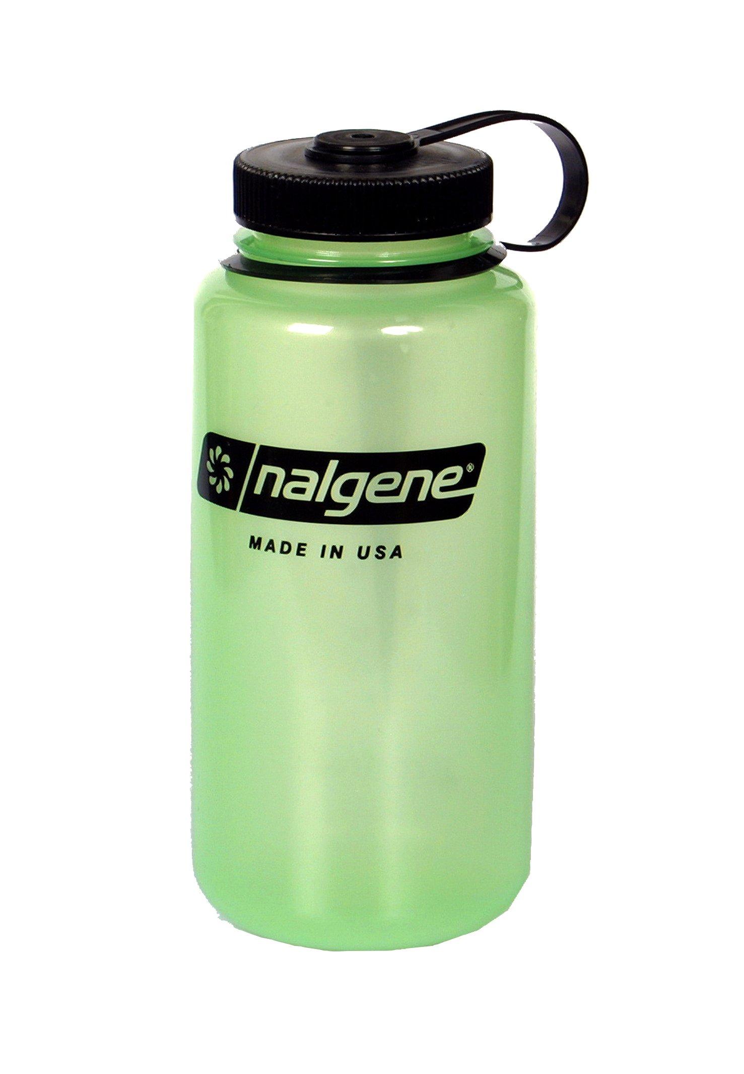 Nalgene 1413830 - Bidón con boca ancha de acampada y senderismo, color Verde(1413890