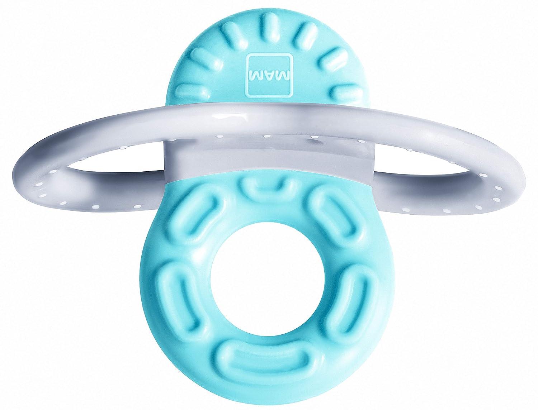 MAM Mini anillo de dentición Phase 1 2 meses y + azul azul ...