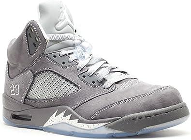 V Retro 136027-005 Wolf Grey Mens Shoes
