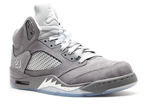 outlet store c4229 52752 Amazon.com   AIR Jordan 5 Retro  Wolf Grey  - 136027-005   Basketball