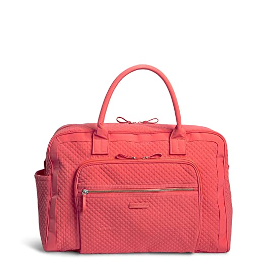 The Vera Bradley Iconic Grand Weekender Bag travel product recommended by Madeleine Quevedo on Lifney.