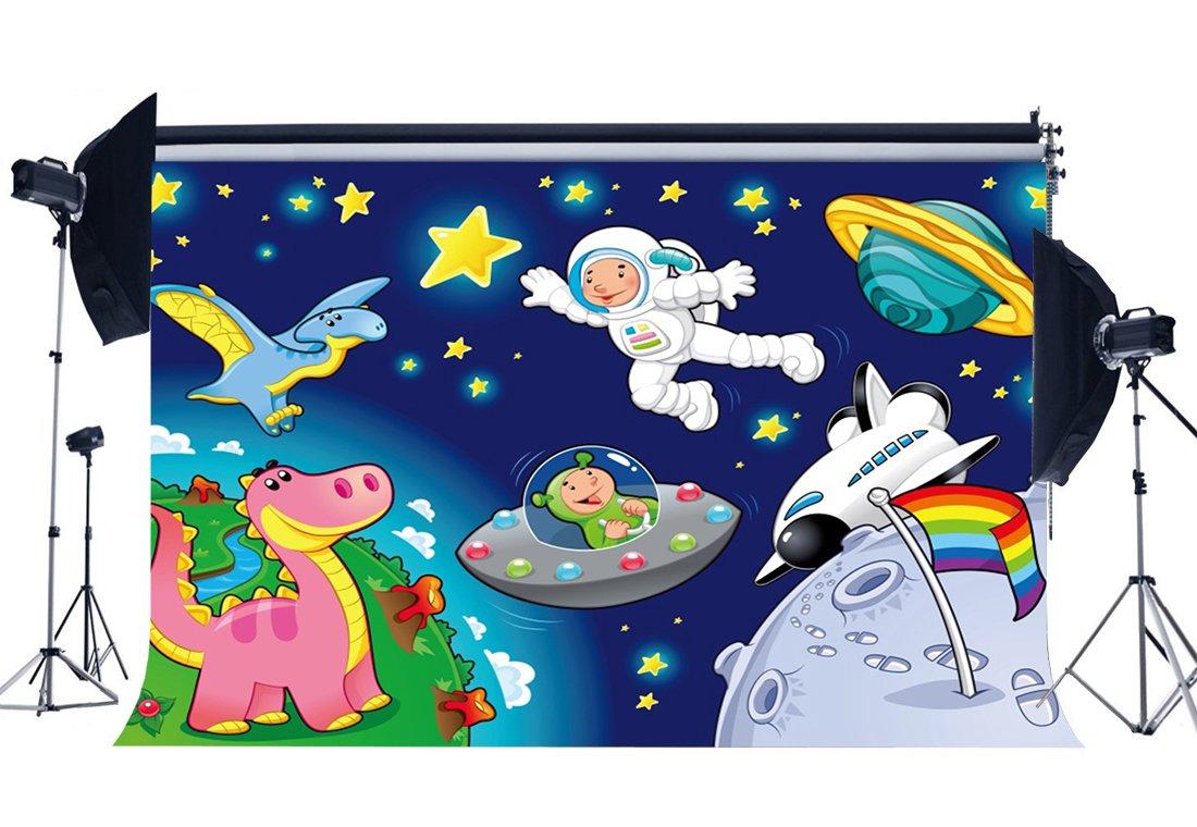 在庫限り 壁紙 子供部屋 背景 写真 誕生日 男の子 漫画 宇宙船