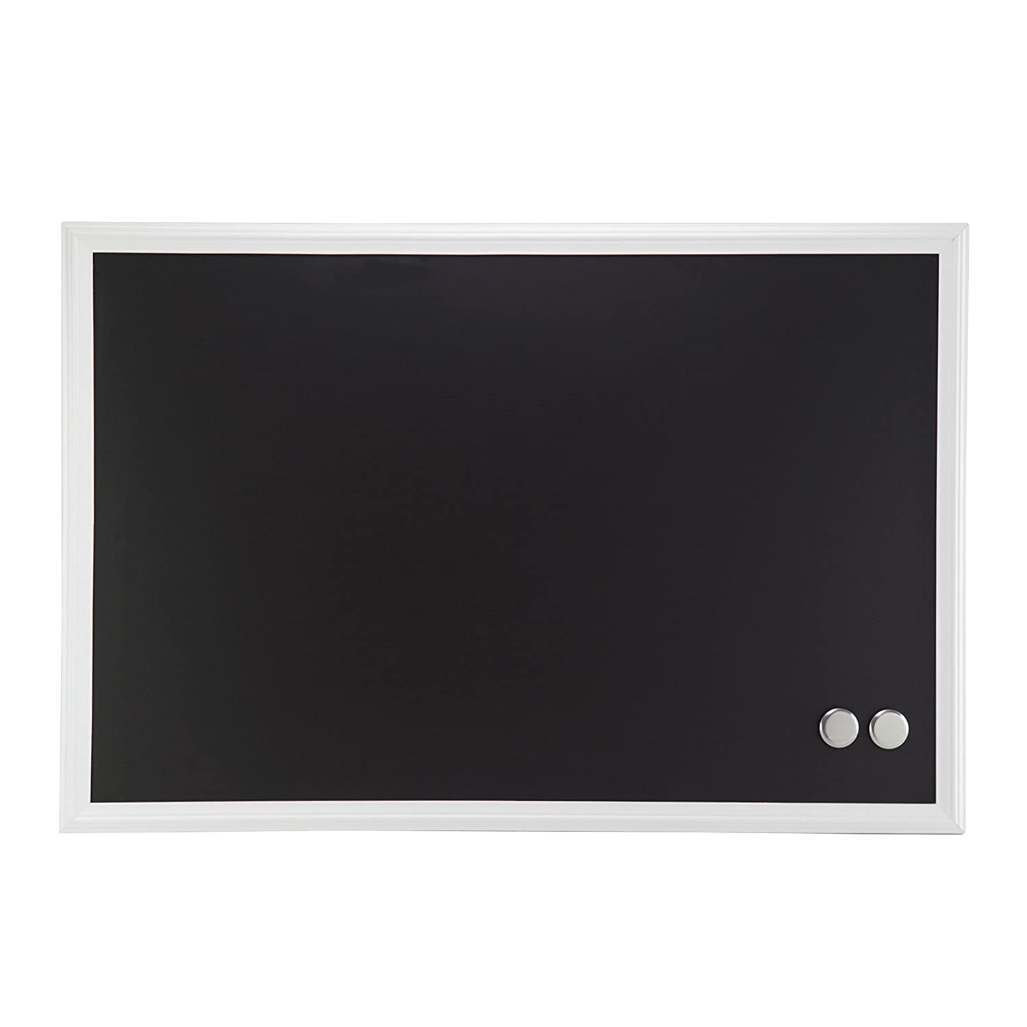 Amazon.com : U Brands Magnetic Chalkboard, 20 x 30 Inches, White ...