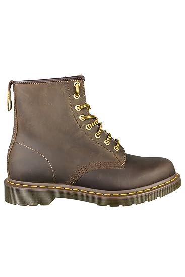 e8bf355f75d44 Dr Martens DM'S 1460 11822200 Aztec Crazy Horse Brown 8 Eyelet Boots:  Amazon.co.uk: Shoes & Bags