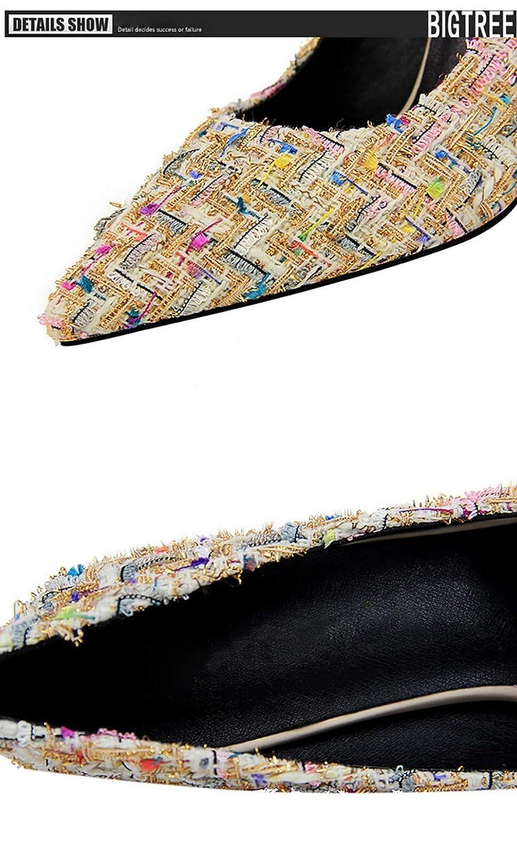 UENGF High Heel Frauen-Sommer-Süße Party-Beiläufige Damen-Schuhe Dünne Dünne Dünne Pumps Der Frauen Der Hohen Absätze 0530eb