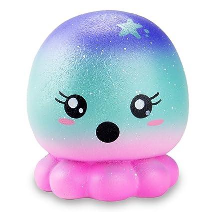 Buy R Horse Jumbo Squishy Kawaii Cute Starry Sky Octopus Cream
