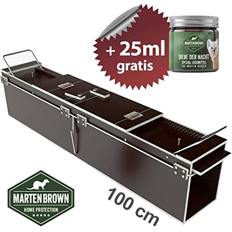 Martenbrown® Trampa para Marta 100x18x21cm Trampa de Captura en ...