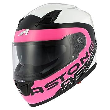 Amazonfr Astone Helmets Casque Moto Intégral Gt900 Roseblanc