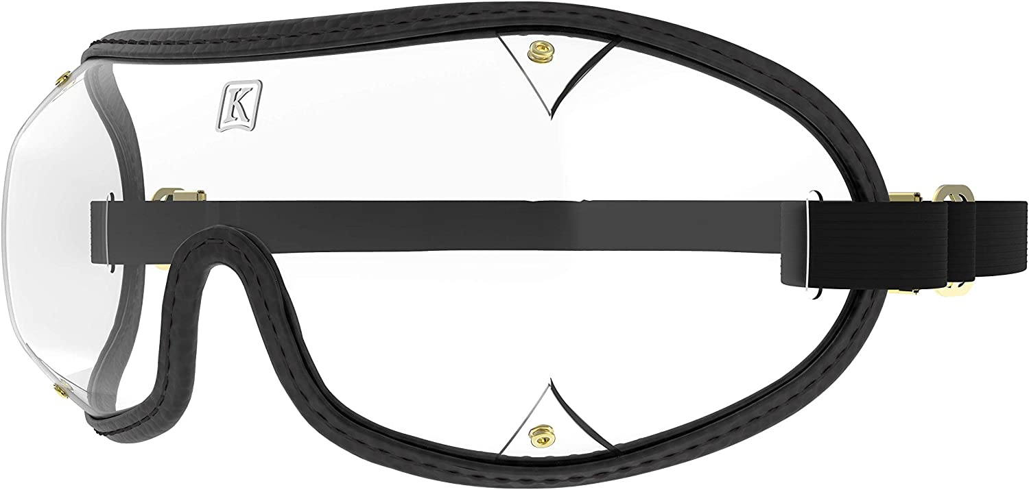 Kroop's Ventless Goggles - Protection for Your Eyes from Wind, Dust, Pollen, Snow, Rain, and Airborne Irritants. Great for Yard Work, Burning Man, or The Color Run. Made in The USA.