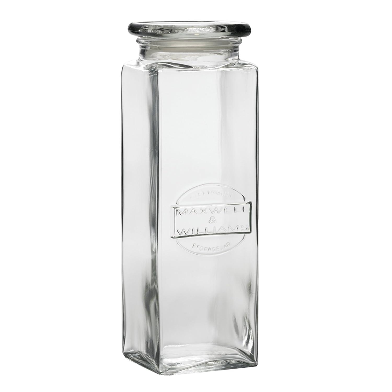 Maxwell & Williams ZY20511 - Bote de Vidrio para pastas, 2,5 l, Transparente