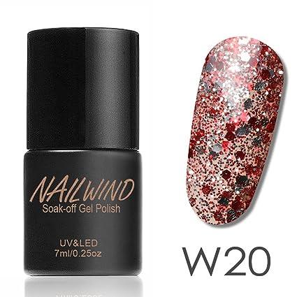 2019 Nueva ML Mujeres diamantes Gel esmalte uñas Gel tiene ...