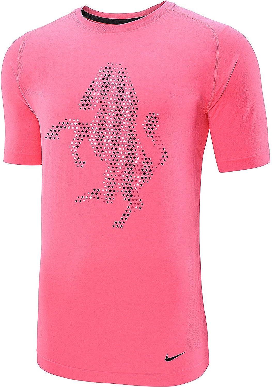 Nike Juventus Foil Estrellas Zebra Logotipo auténtico algodón orgánico Camiseta para Hombre, Rosado: Amazon.es: Deportes y aire libre