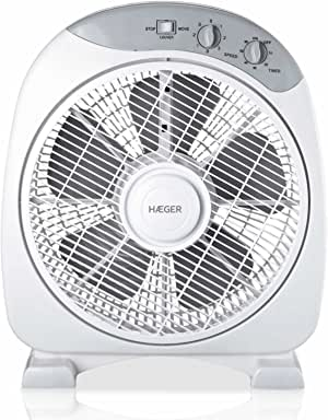 HAEGER Home Wind - Ventilador de Suelo con diámetro de 30,5 cm ...