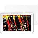 Odys Element 10 Plus 3G (HD IPS Display) Film Protection d'écran - 2 x atFoliX FX-Antireflex-HD antireflets haute résolution Protecteur d'écran Film Protecteur