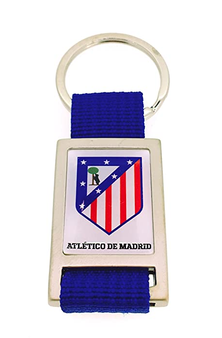 Gemelolandia Llavero Atlético de Madrid Rectangular Color ...