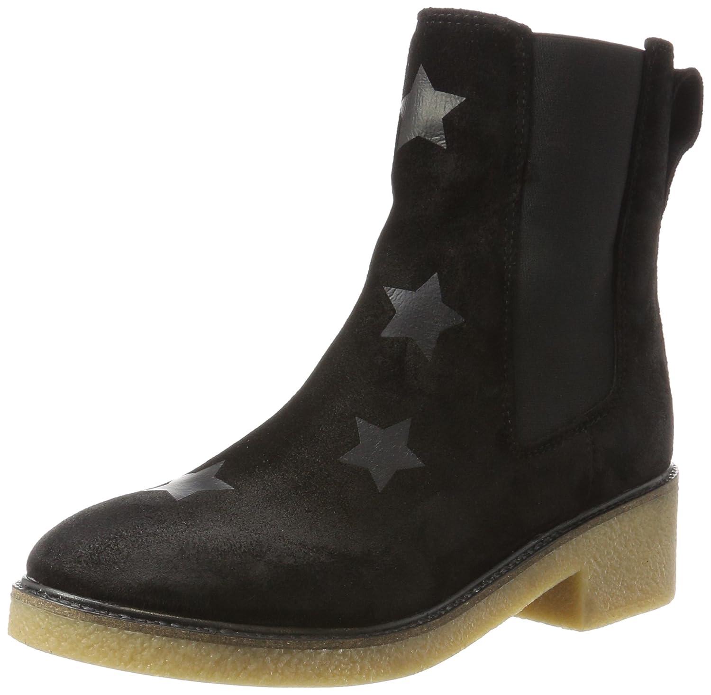 Tommy Hilfiger Damen M1285IA 3B Chelsea Boots, Blau (Midnight), 42 EU