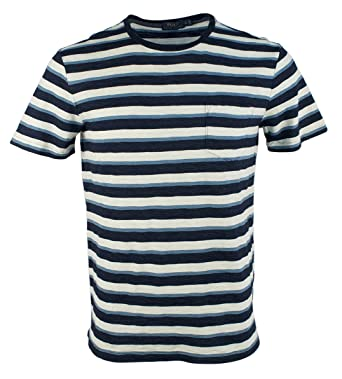 Ralph Signature Lauren Mens Shirt Striped T Polo 7b6vgyfY