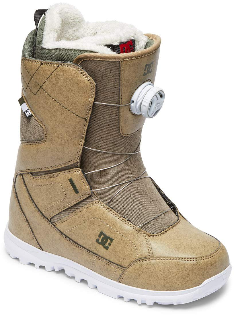 DC Search BOA Snowboard Boots Incense Womens Sz 5 by DC