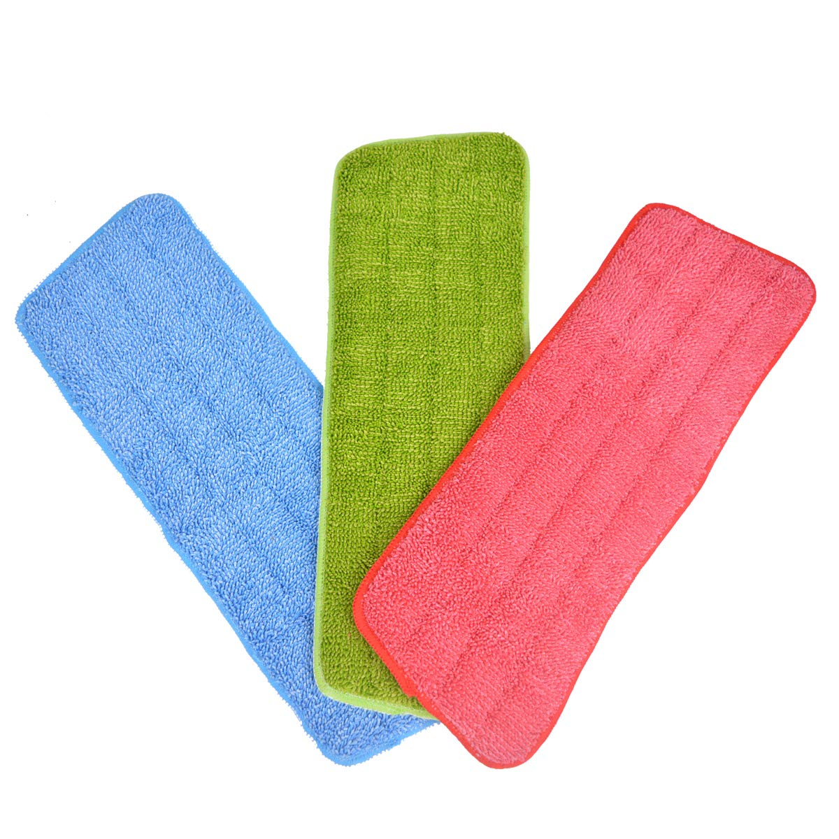 Baitaihem 3 Pack Mop Cleaning Pads Microfiber Replacement Mop Pad Fit Spray Mops /& Reveal Mops Washable 16.54inchX5.51inch