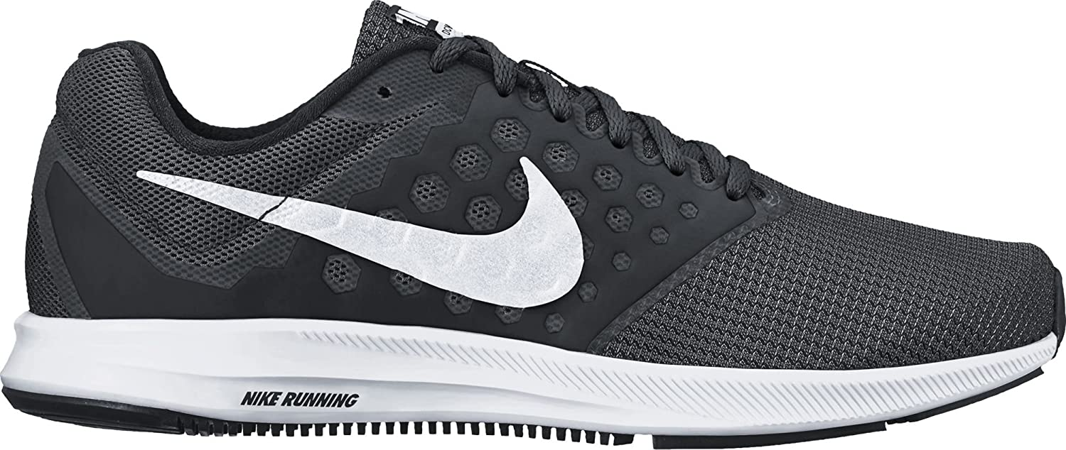 Black White Nike Womens Downshifter 7 Running shoes