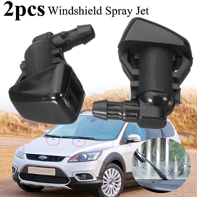 Juego de 2 boquillas de limpiaparabrisas para Ford Focus 2008-2011: Amazon.es: Bricolaje y herramientas