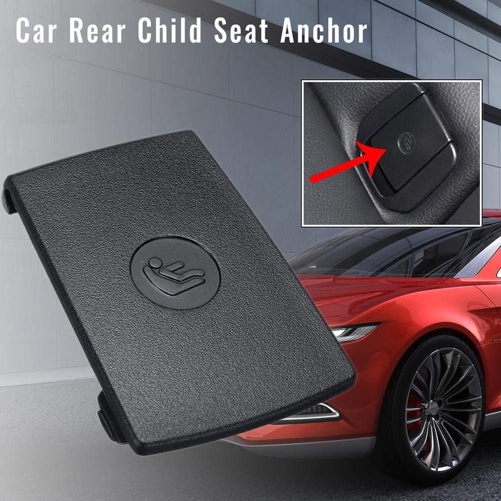 AA-fashion Black Car Rear Child Seat Anchor ISOFix Cover for BMW F30 F31 3-Series F20 F21 F22 F80 M3 F34