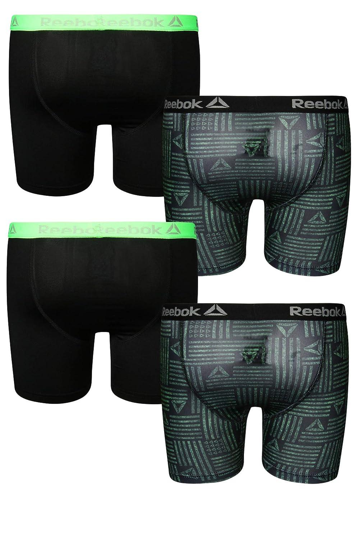 Reebok Boys Performance Boxer Briefs Underwear (4 Pack