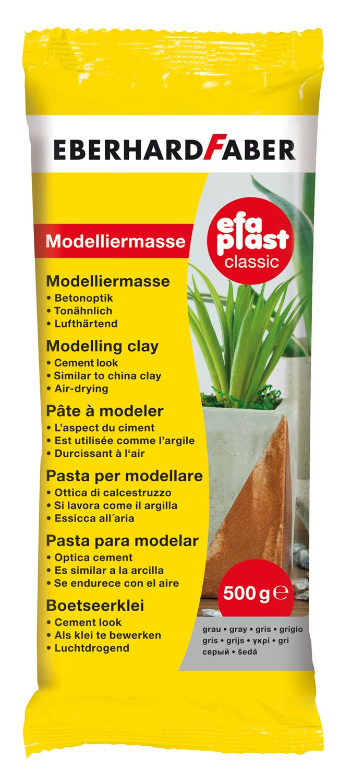 grau Eberhard Faber Modelliermasse EFA Plast classic