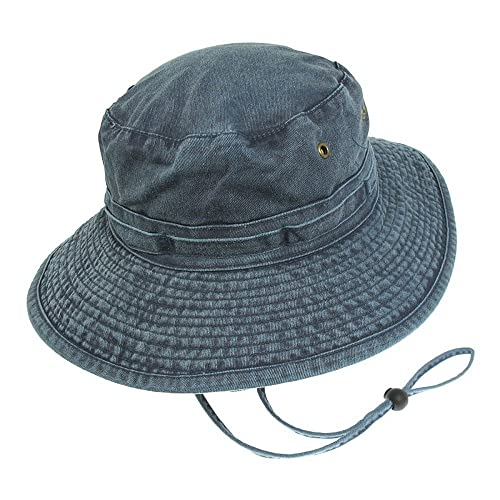 Safari Outback Bush Wide Brim Hat 100 Cotton Aussie Sun