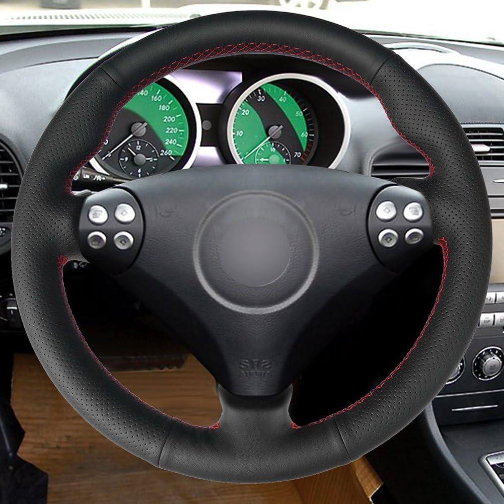 loncky Auto piel volante cubre para Mercedes Benz SLK-Class W170 ...