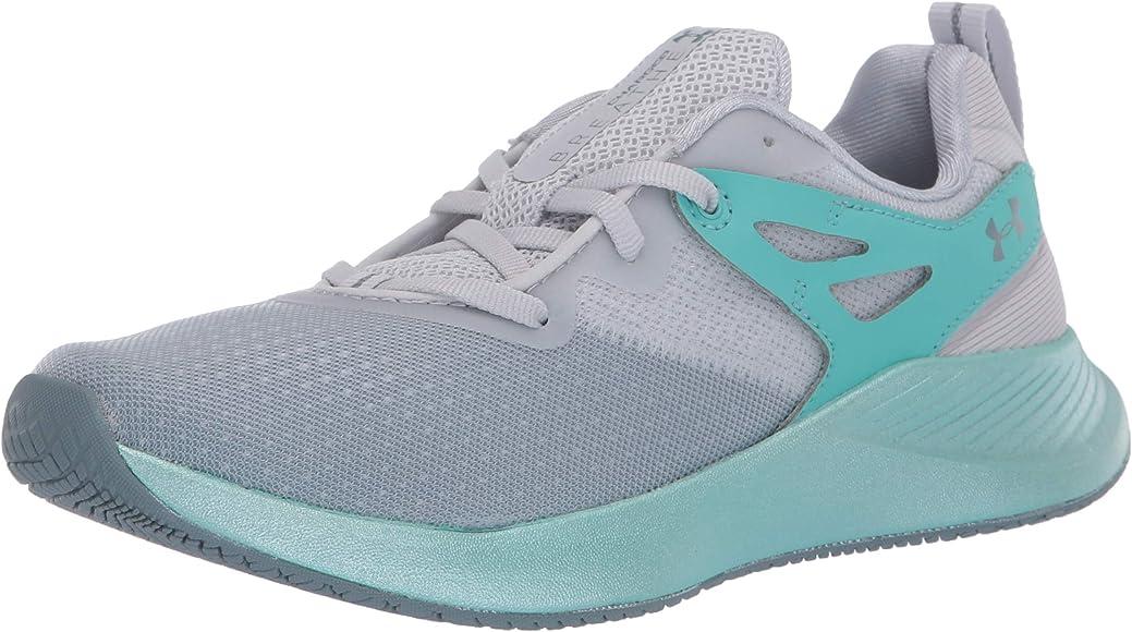 Under Armour Charged Breathe Tr 2 - Zapatillas deportivas para mujer, (Gris Halo (101)/Turquesa Radial), 35 EU: Amazon.es: Zapatos y complementos