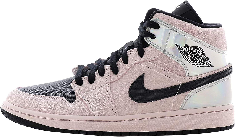 NIKE Wmns Air Jordan 1 Mid Zapatillas de b/ásquetbol para Mujer