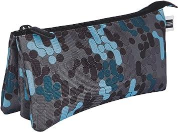 Finocam 5013316 Prints Mercury Estuches, 23 cm, Azul: Amazon.es: Oficina y papelería