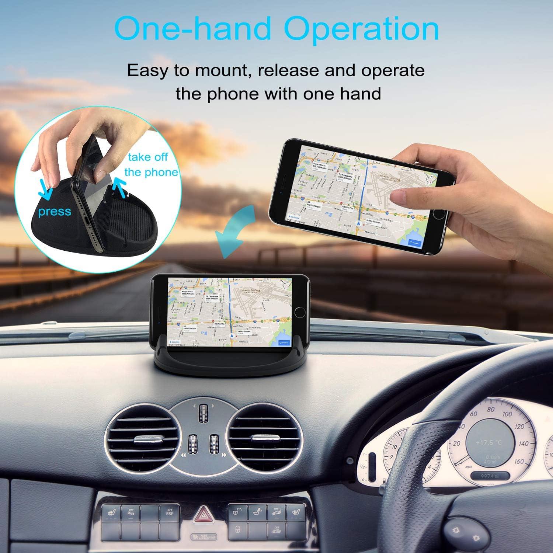 Lanhiem Mobile Phone Holder Car Silicone Non Slip Mat Elektronik