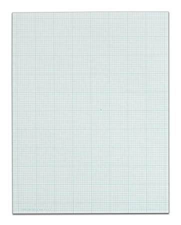 Amazon.Com : Tops Cross Section Pad, 1 Pad, 10 Squares/Inch