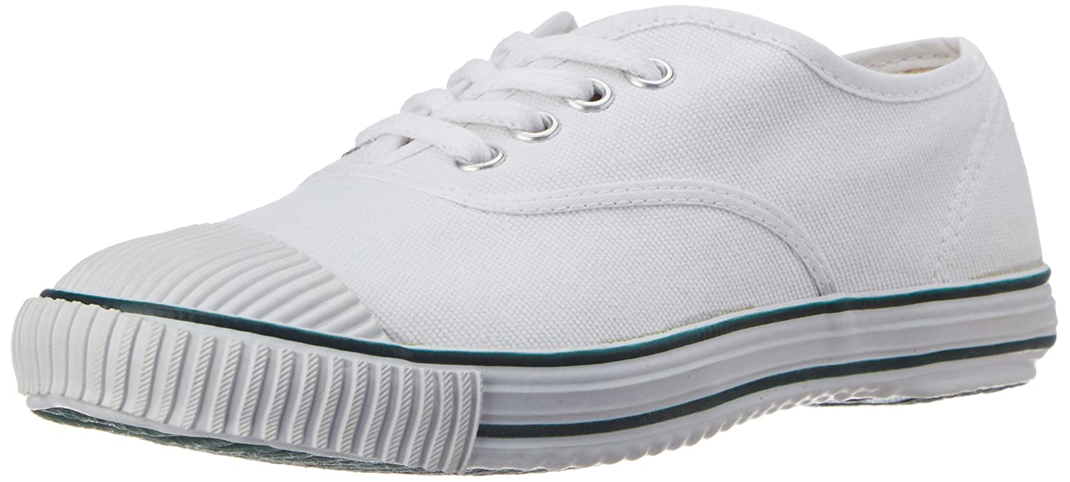 Tennis White Canvas Formal Shoes