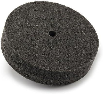 Fiber Polishing Buffing Wheel 180# Grit Nylon Abrasive 300mm Dia 50mm 9P Hardnes