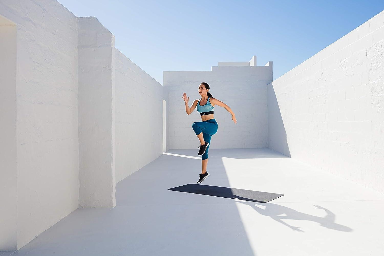 Colchoneta de Gimnasia en Negro Pilates /El Original ged/ämpfte la Alfombra para Entrenamiento Yoga BLACKROLL Mat/