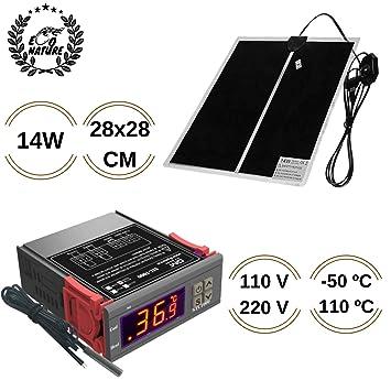 Eco Nature Termostato (110v-220v) y Manta Termica (14w), Eléctrica