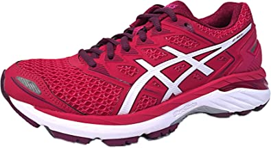 alto telaio chiamare  Amazon.com | ASICS Womens GT-3000 5 FluidRide Running Shoes Pink 5 Medium  (B, M) (5, Bright Rose/White/Dark Purple) | Road Running