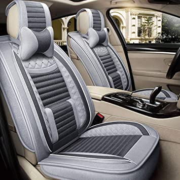 FIAT SCUDO ECO LEATHER FRONT UNIVERSAL SEAT COVERS