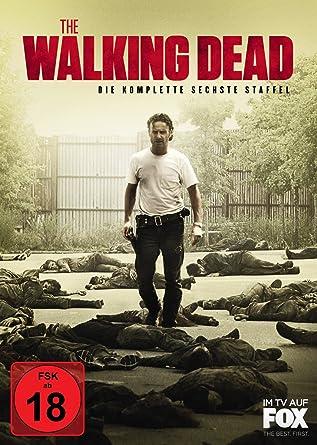 The Walking Dead Die Komplette Sechste Staffel 6 Dvds Amazonde